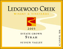 Ledgewood Creek Winery & Vineyards - Suisun Valley