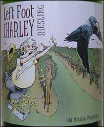 Left Foot Charlie - Old Mission Peninsula Riesling