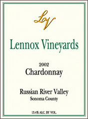 Lennox Vineyards-Chardonnay