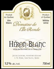 Domaine de l'Île Ronde-Heron Blanc