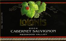 Lolonis Winery - Redwood Valley, Mendocino