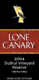 Lone Canary Winery-Reserve