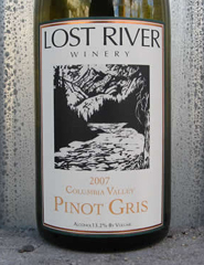 Lost River Winery-Pinot Gris