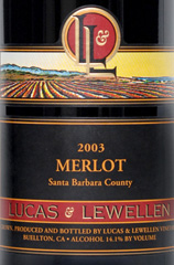 Lucas and Lewellen Vineyards - Merlot