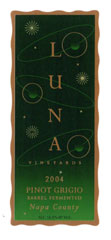 Luna Vineyards-Pinot Grigio