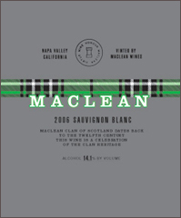 Maclean Wines-Sauvignon Blanc