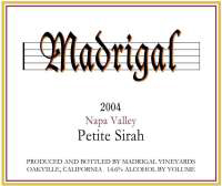 Madrigal Vineyards-Petite Sirah