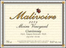 Malivoire - VQA Niagara Peninsula Chardonnay, Moira Vineyard