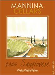 Mannina Cellars-Sangiovese