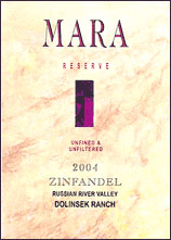 Mara - Russian River Valley Zinfandel