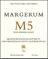 Margerum Wine M5 Santa Barbara