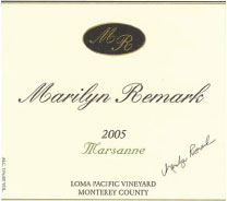 Marilyn Remark Winery-Marsanne