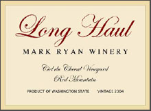 Mark Ryan Winery-Long Haul
