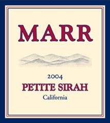 Marr Cellars Petite Sirah