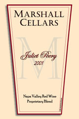 Marshall Cellars-Juliet Peery