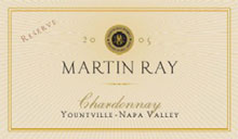 Martin Ray Winery-Chardonnay
