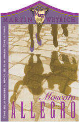 Martin Weyrich Winery-Moscato Allegro
