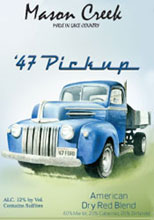 Mason Creek Winery-'47 Pickup