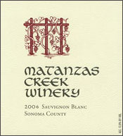 Matanzas Creek Winery-Sauvignon Blanc