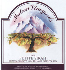 Matson Vineyards-Petite Sirah