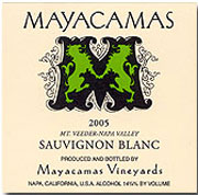 Mayacamas Vineyards-S. Blanc
