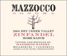 Mazzocco Vineyards Zinfandel