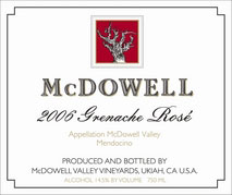 McDowell Valley Vineyards-Grenache Rose - Grenache Noir
