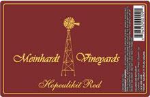 Meinhardt Vineyards Wine-Hopeulikit