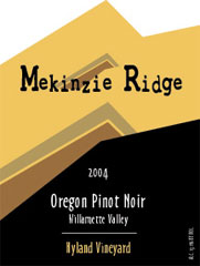 Mekinzie Ridge Winery-Pinot Noir