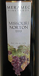 Meramec Vineyards - Norton