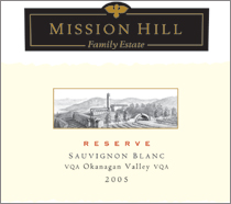 Mission Hill Sauvignon Blanc