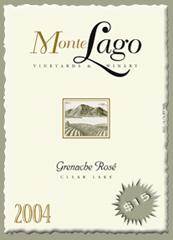 Monte Lago Vineyards and Winery-Grenache Rose