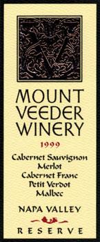 Mount Veeder Winery - Napa Valley Cabernet Sauvignon Reserve