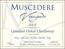 Muscedere Vineyards-Chardonnay