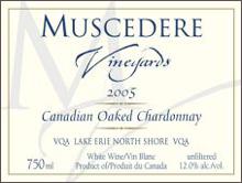 Muscedere Vineyards-Chardonnay