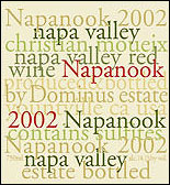 Dominus Estate - Napanook Red, 2002