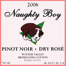 Naughty Boy Vineyards-Dry Rose