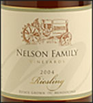 Nelson Family Vineyards-Riesling