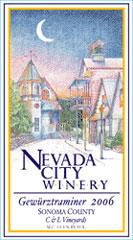 Nevada City Winery-Gewurztraminer