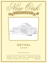 New Oak Vineyards-Seyval
