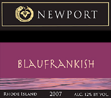 Newport Vineyards and Winery - Blaufrankish