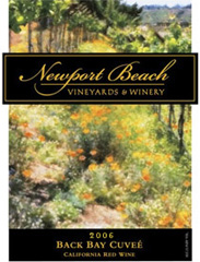 Newport Beach Vineyards and Winery-Back Bay Cuvee