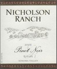 Nicholson Ranch-Pinot Noir