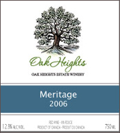 Oak Heights Estate Winery-Meritage