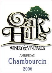 Oak Hills Winery-Chambourcin