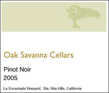 Oak Savanna Vineyard-Pinot Noir
