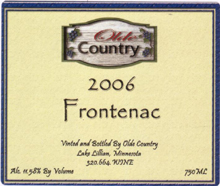 Olde Country Winery-Frontenac