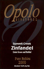Opolo Vineyards - Zinfandel