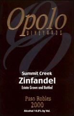 Opolo Vineyards - Zinfandel
