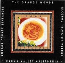 Orangewoods Wine- Zinfandel